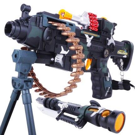 air orbeez nerf gun Sound and light boys toy gun infrared sniper baby  electric shock submachine