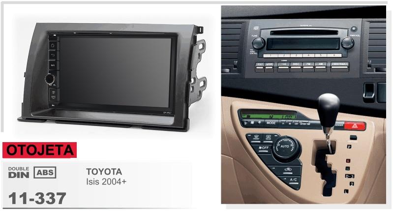 Autoradio avec cadre Android 9.1 Autoradio GPS lecteur pour TOYOTA Isis 2004 + enregistreur multimédia appareil stéréo