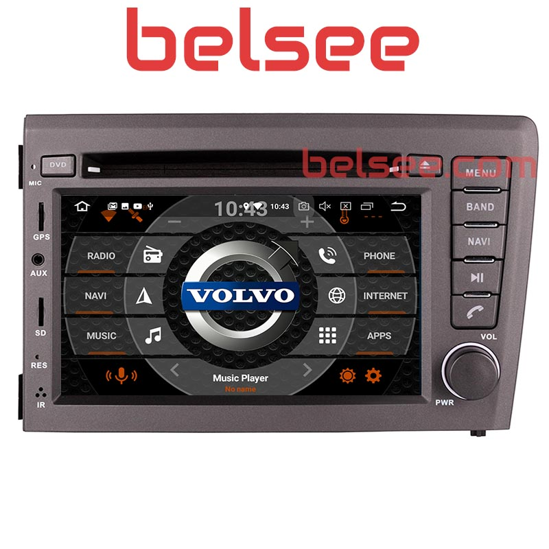 Belsee 8 Core Android 9.0 Car DVD player GPS Head Unit <font><b>Radio</b></font> Stereo Navigation for <font><b>Volvo</b></font> V70 <font><b>S60</b></font> XC70 2000 2001 2002 2003 2004 image