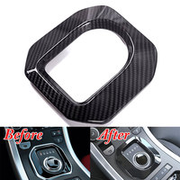 ABS Auto Interior Console Gear Shift Cover Panel Frame Car Accessories Fit For Land Rover Range