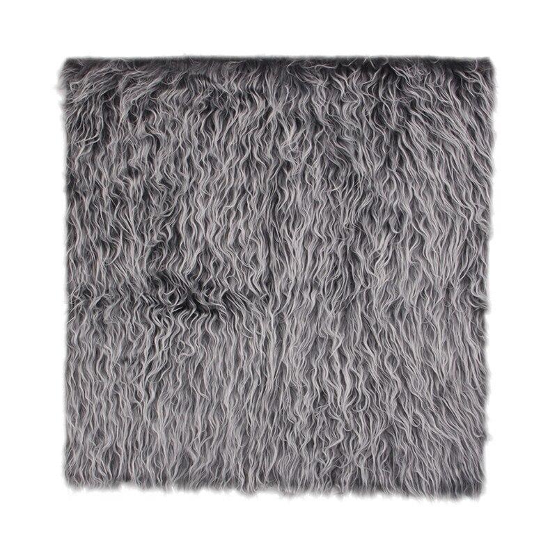 Модный дизайн фотографический фон для фотосъемки новорожденных реквизит одеяло корзина наполнитель APR16 - Цвет: Deep Gray