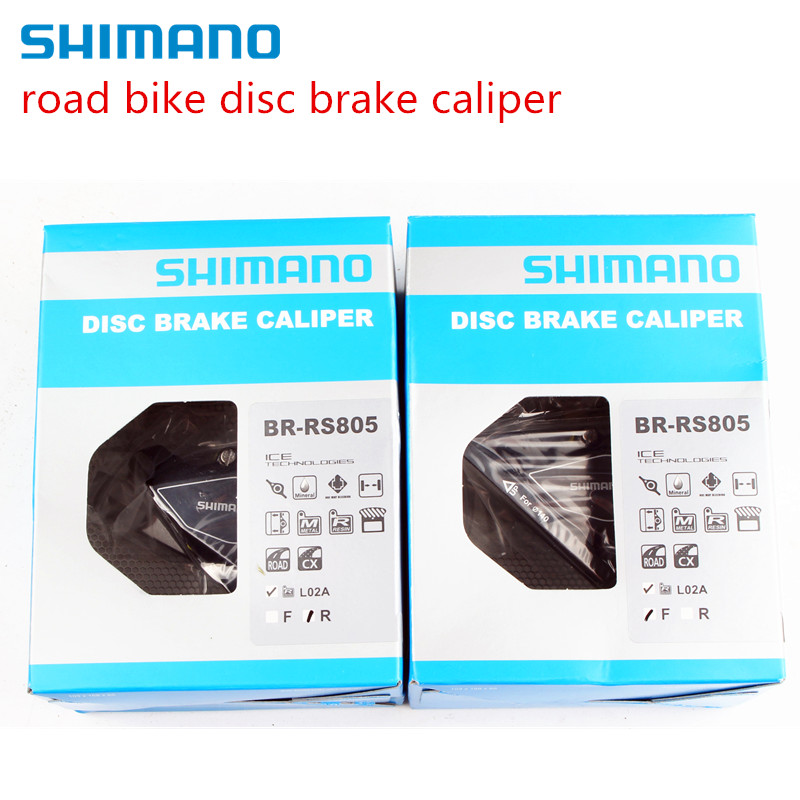 Shimano Road/Cyclocross BR-RS805 Disc Brake Flat Mount Caliper w/ Fin Pads front & Rear футболка lee lee le807ewqto89