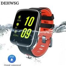 DEHWSG Bluetooth Smart watch DK68 MTK2502 IP68 Waterproof Wearable device step count Heart Rate Sleep Monitor For Xiaomi huami 2