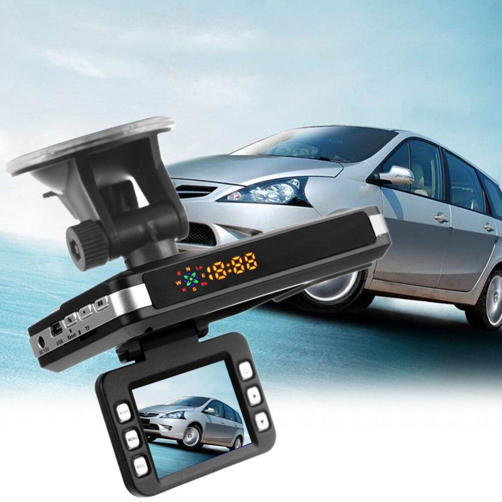3 en 1 détecteur de voiture Radar voix russe DVR Camera150 degrés 1080 P 2.0