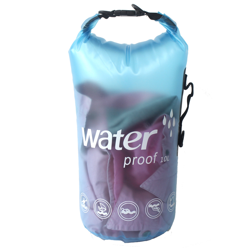 10L 20L PVC Outdoor Dry River Trekking Waterproof Swimming Bag Beach Swim Rafting Aqua Water Proof Bag Impermeable in Swimming Bags from Sports Entertainment