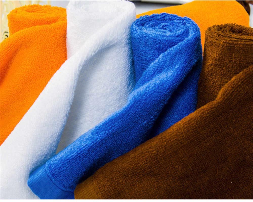 DelCaoFen 2018 2 ピース 50*80 センチホテル足タオルロング繊維綿浴室マット吸収タオル洗濯機非スリップタオル
