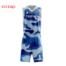 men digital printing basketball sets sleeveless basketball jerseys  basketball shorts mesh sports suit(China) 71b7691b6