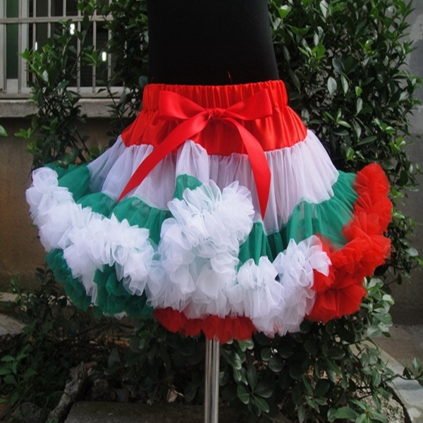 Ribbon Bow Girls Tutu Skirt Fashion Tutu Skirts Girls Short Baby Tutus Skirt For Girls Pettiskirts Baby PETS-051