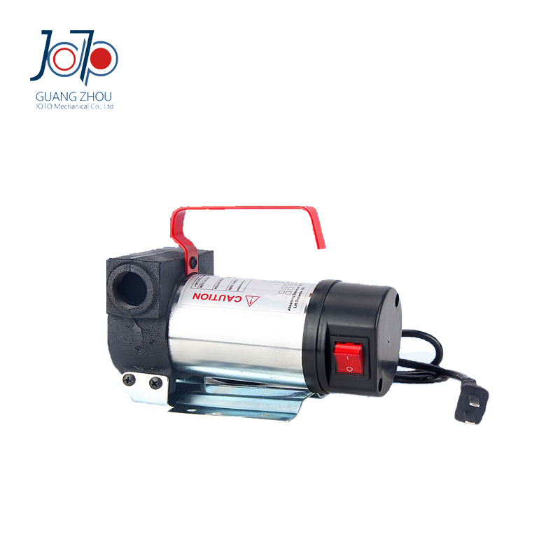 New Model Electroplating 200W 24V DC Dual-purpose Inlet Electric Self-priming Constructional Machinery Oil Pumping Refuel Pump  12v dual purpose inlet electric self priming diesel oil refuel oil pump with standard 2m power line and 8m oil tube