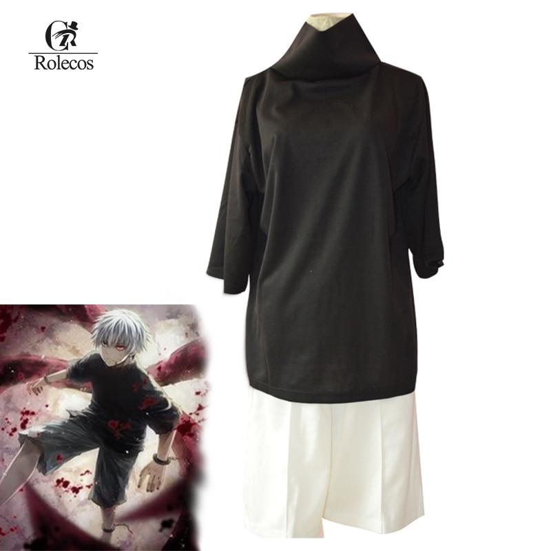 Tokyo Ghoul Ken Kaneki Cosplay Costumes Ken Kaneki Costumes