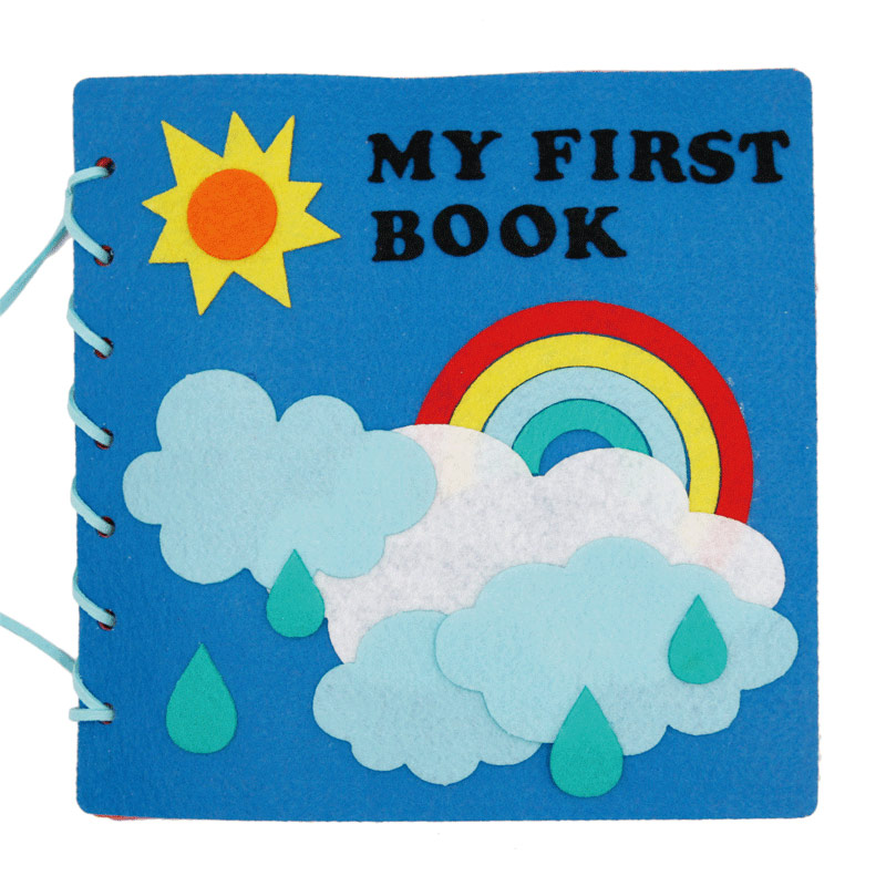 5 Styles Quiet Book Montessori Early Education Mom Handmade My First Book Felt Picture Book For Children Felt DIY Package