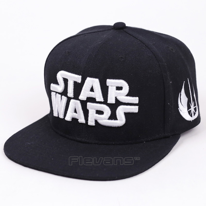 2017 New Cool Fashion Star Wars Letter Baseball Cap Summer Hat Hip Hop Snapback Caps Hats cntang brand summer lace hat cotton baseball cap for women breathable mesh girls snapback hip hop fashion female caps adjustable