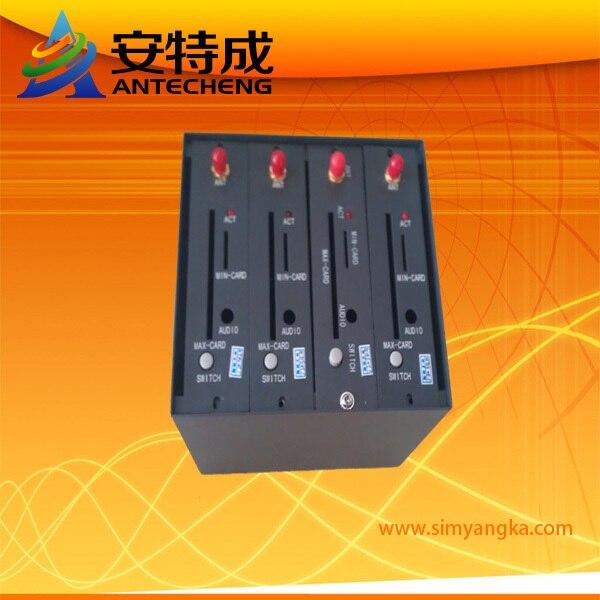 Free shipping bulk sms modem Wavecom 4 port gsm modem q24plus quadband 850/900/1800/1900mhz