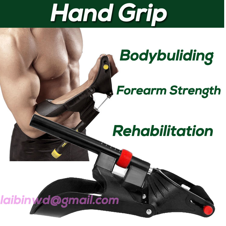 Wrist Forearm Muscle Developer Hand Gripper Strength Trainer Exercise Fitness Body Building Equipment Us02