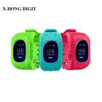 Smart Phone Watch Kid Wristwatch Children Anti Lost GPS Tracker Watch For Kids SOS GSM Mobile