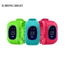 Teléfono inteligente Reloj de Pulsera Del Cabrito Niños Perdida Anti GPS Tracker reloj Para Niños SOS GSM Smartwatch Teléfono Móvil Para IOS Android