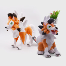 2 Styles Sun/Moon Alola Sitting/Standing Lycanroc Dusk Peluche Plush Doll Soft Animal Dolls Hot Toys Great Gift For Children