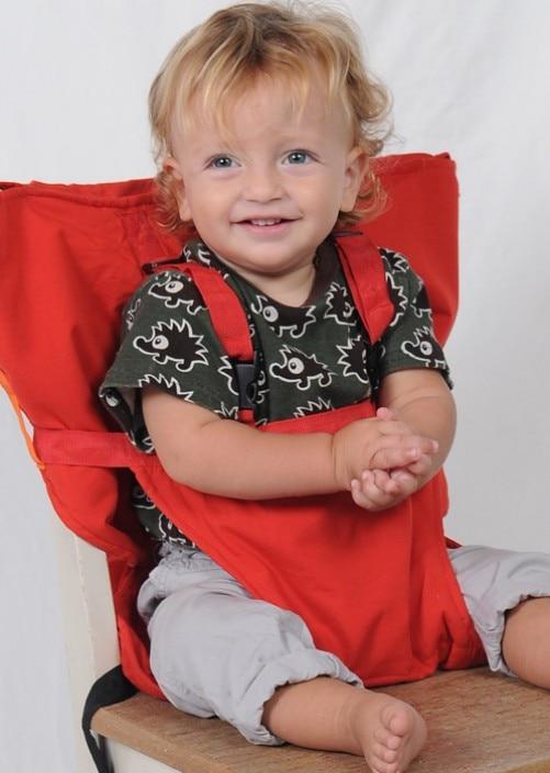 Chaise bébé Portable Infantile Siège Produit Salle de Déjeuner/Ceinture de Sécurité Sécurité Nourrir Chaise Haute Harnais chaise Bébé siège