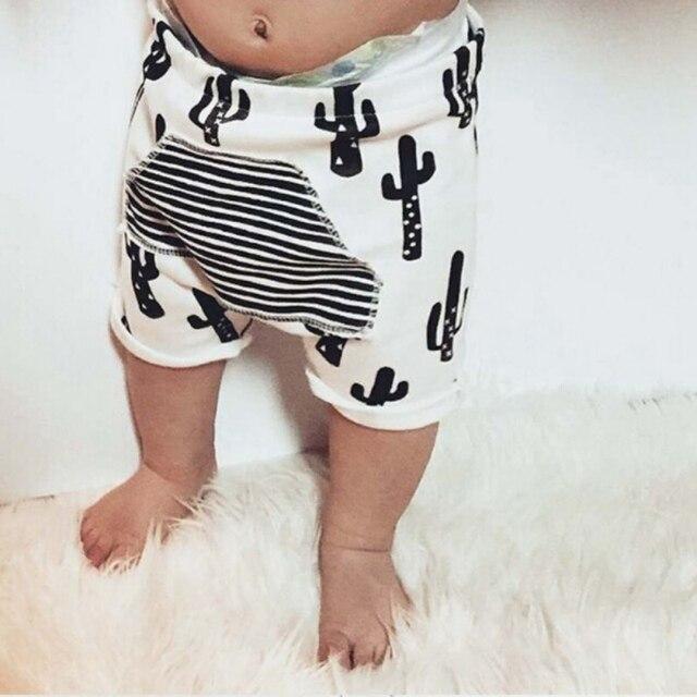 Sommer Kurze 5 Baumwolle Für T Gestreiften Shorts Baby Mode Kaktus 1 Harem Kinder Hosen Jungen Junge iOkXZPu