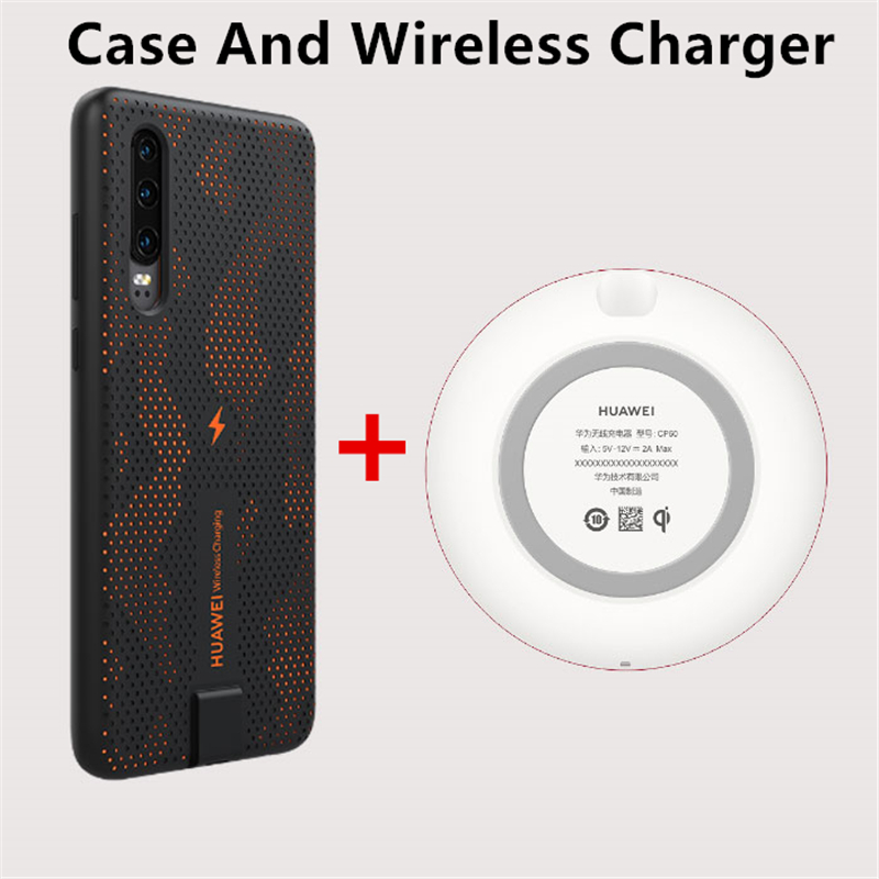 Image 4 - HUAWEI P30 Wireless Charging Case Original Official Huawei CNR216 UVT Qi 10W Magnetic Back Cover Supports Car Mount ELE L09/L29-in Fitted Cases from Cellphones & Telecommunications