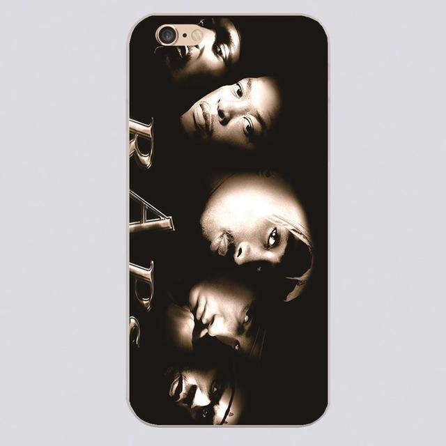 3ab9aeb135d New snoop dogg dr dre 2pac eminem and 50 cent Design white skin case cover  cell phone cases for iphone 4 4s 5 5c 5s 6 6s 6plus
