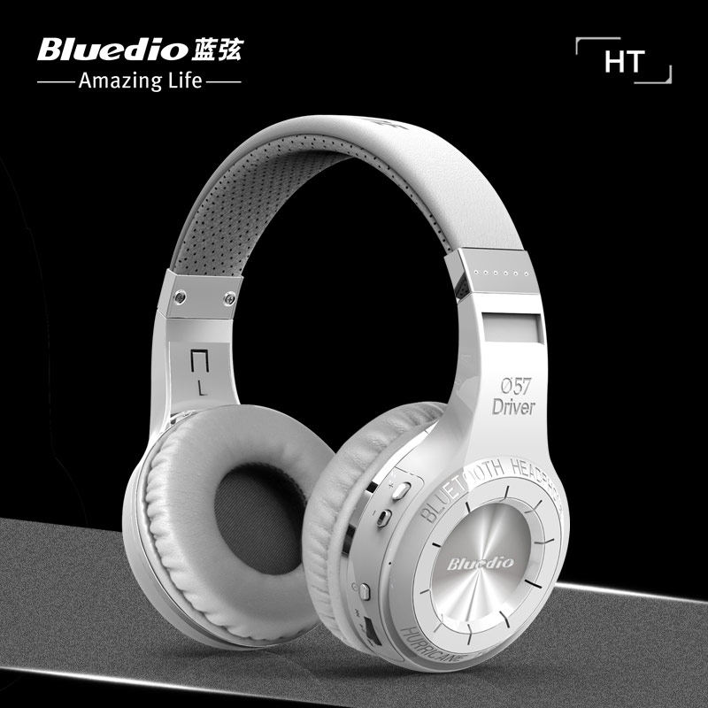 Original bluedio HT Wireless Bluetooth headphones for computer Headset mobile phone PC telephone bludio with Microphone headband wireless retro telephone handset and wire radiation proof handset receivers headphones for a mobile phone with comfortable call