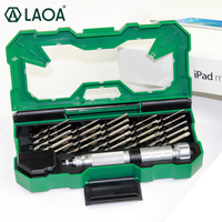 LAOA 25 in 1 Precision Screwdriver Set Tools Kit Hand tools Repair for Laptop Computer Phone Repair Tool Kit