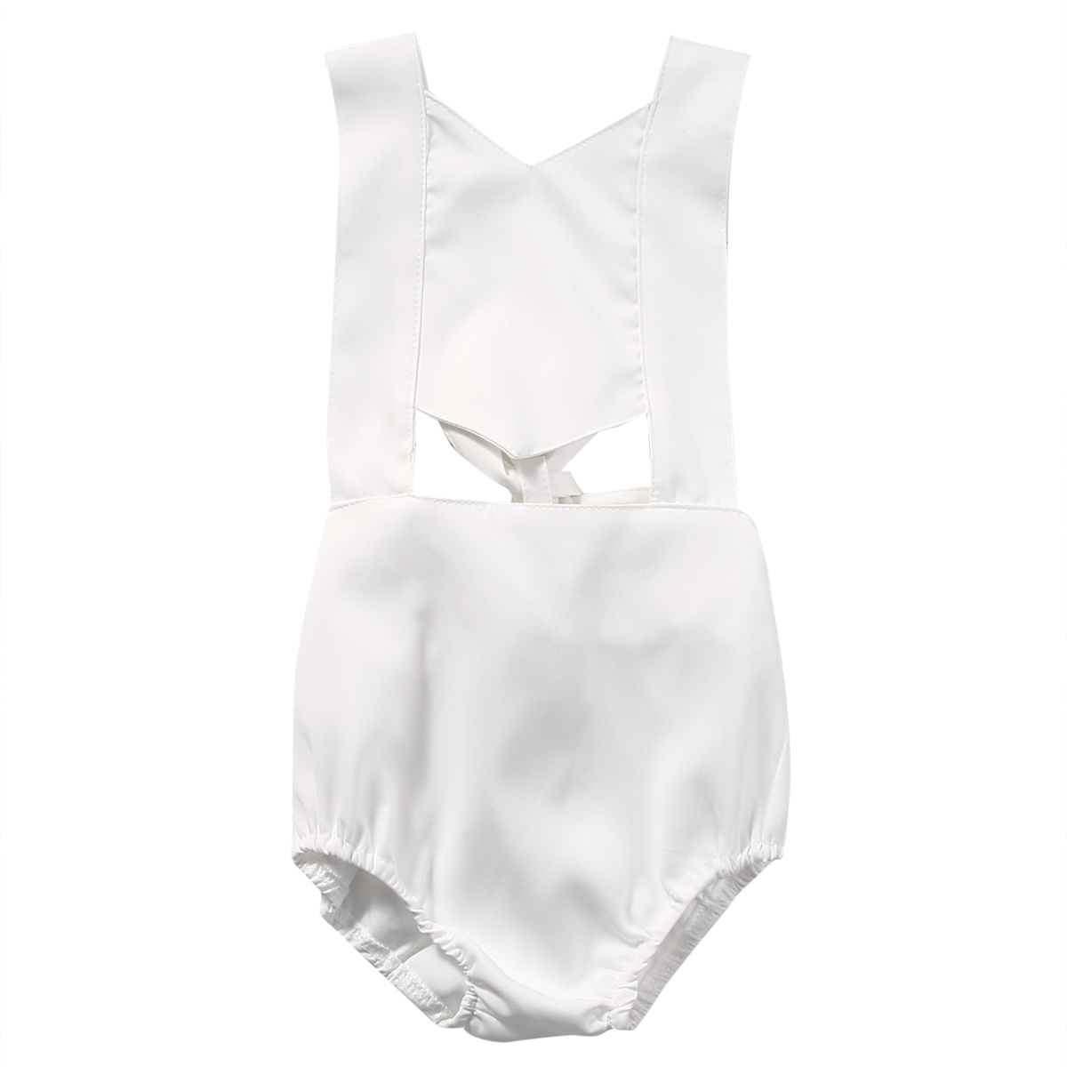Fashion Newborn Baby Girls Clothes Infant Romper Jumpsuit Backless Sunsuit Sleeveless Baby Girl Clothing cute newborn baby girl clothes floral lace romper 2017 summer sleeveless infant bebes princess onepieces sunsuit outfit jumpsuit