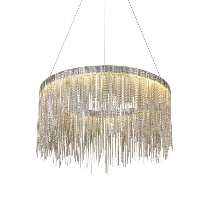 American LED Pendant Light Concrete Restaurant Living Room Villa Light Scandinavian Vintage Industrial Pendant Nordic Loft Light