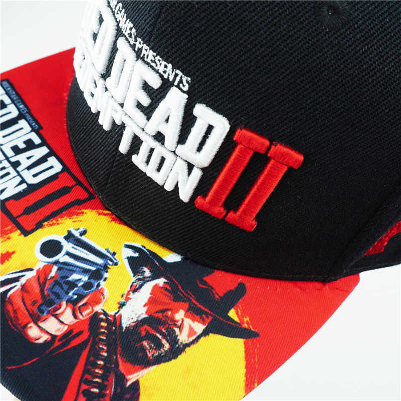 check out e7a91 bd98f ... Game Red Dead Redemption 2 Hat Cotton Baseball Snapback Caps Adjustable  Hip Hop Hats For Adult ...