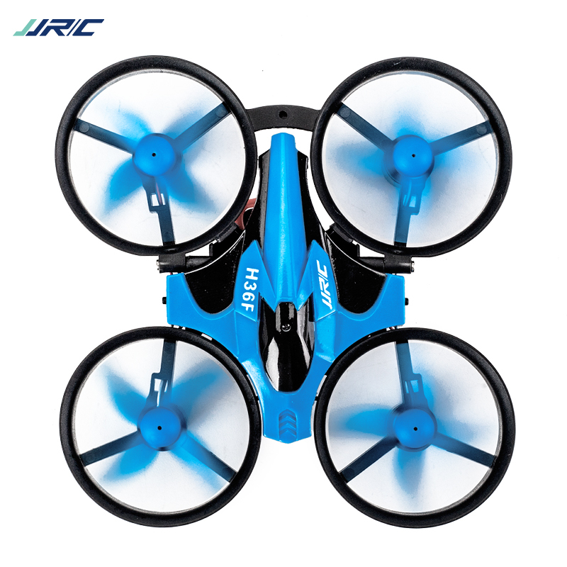 RC Mini Quadcopter+ Boat  JJRC H36F 2.4g 4ch 6-axis Speed 3d Flip Headless Mode Rc Drone Toy Gift Present