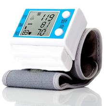 Portable Digital Pulse Meter Wrist Blood Pressure Monitor Health Care Sphygmomanometer medidor de pressao arterial