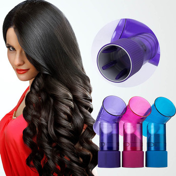 a001 fashionable hair style roller maker black Diffuser Portable Hair Roller Curler Maker Magic Wind Spin Curl Hairstyling Tool Magic Roller Salon Hair Styling Tools NS