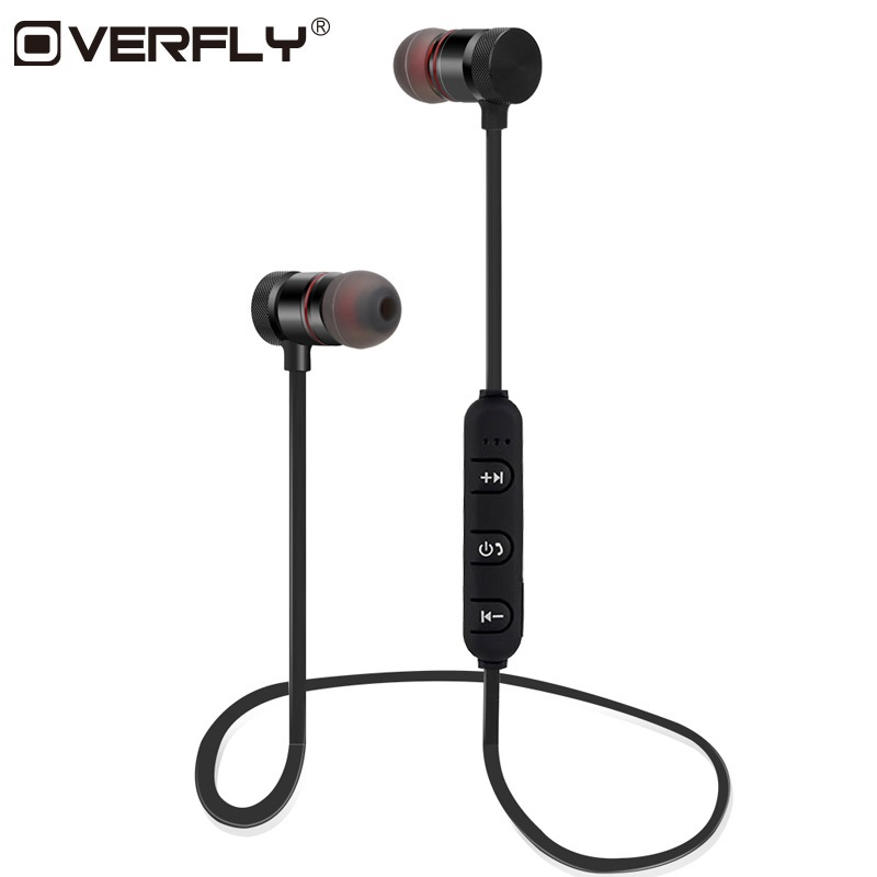 Overfly Magnetic Bluetooth Headphones Blutooth Earphone Sport Headset Auriculares kulakl k Earpiece Casque Earbuds For Phone