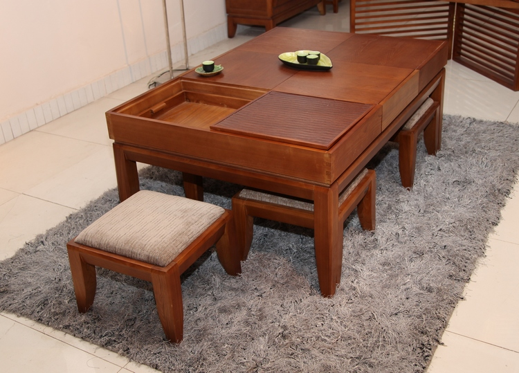 living room furniture wood coffee table tea 1.2 meters long with a