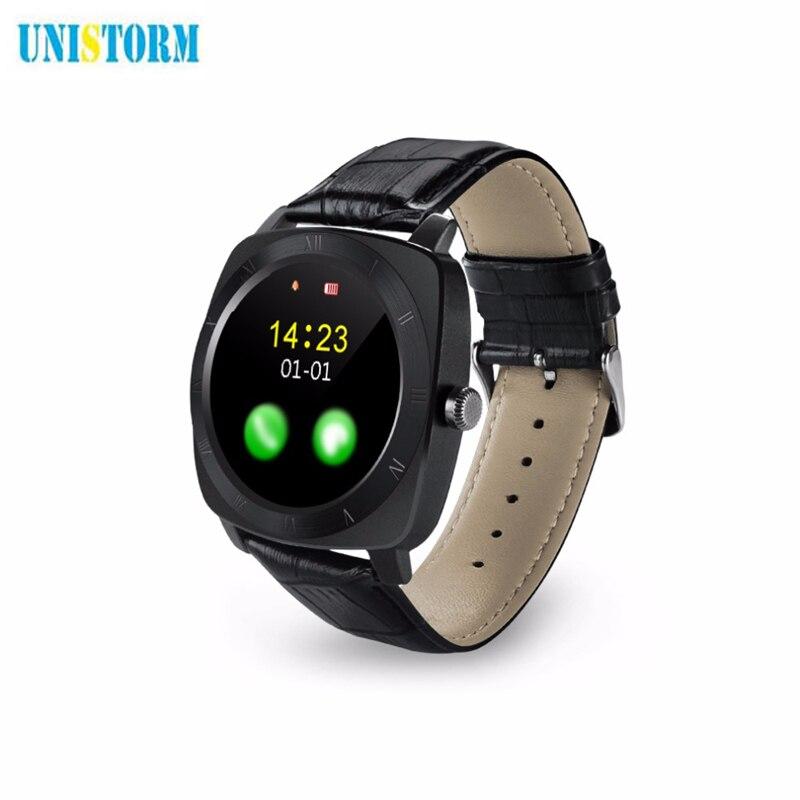 imágenes para Smart watch x3 smartwatch podómetro gimnasio reloj relogio masculino para android reloj teléfono tarjeta sim cámara reproductor de mp3