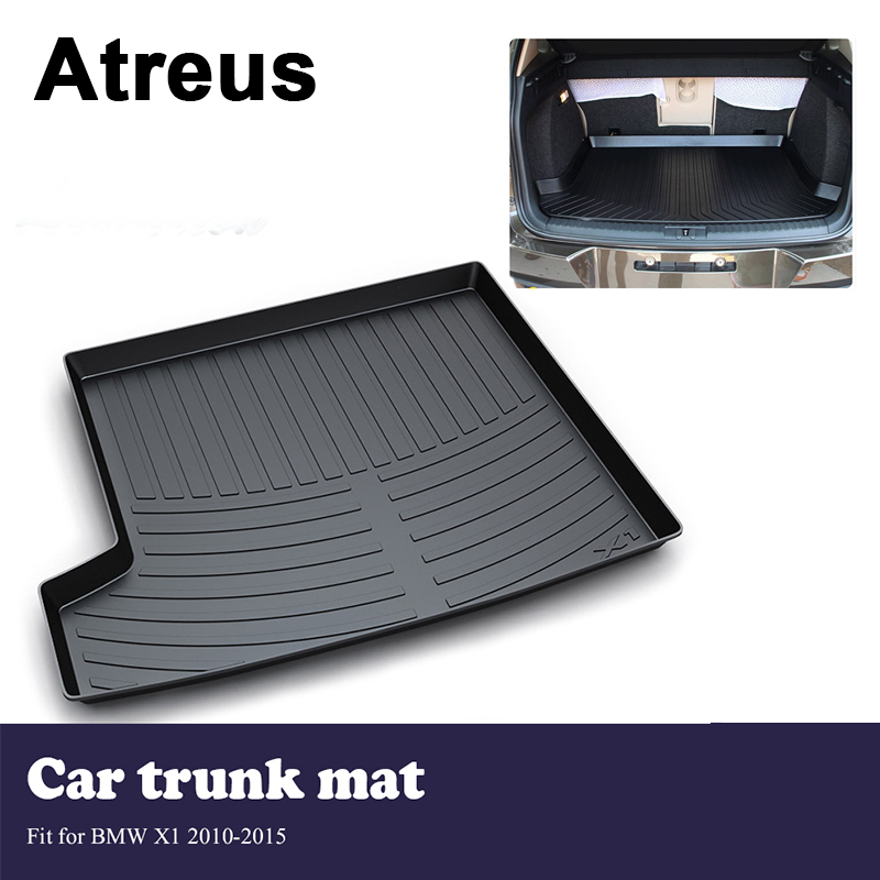 Atreus Car Trunk Cargo Floor Liner Tray Mat Cover Protection Blanket For BMW X1 E84 2010 2011 2012 2013 2014 2015 Accessories