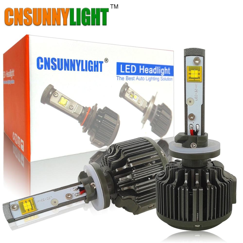 CNSUNNYLIGHT H27 30W 3600LM LED Car light Kit Led Fog Lamp 880 881 Replace Car Headlight Lighting Bulbs 2pcs 880 881 car led headlight headbulb crystal night clear all in headlamps 40w 3600lm 880 881 6000k