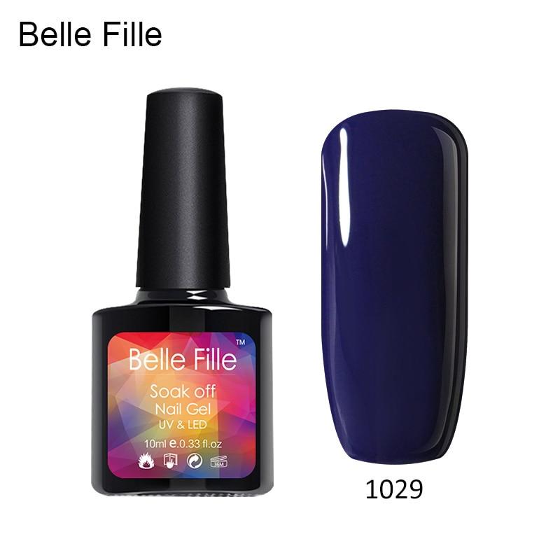 Belle Fille Nail Gel Polish 10ml Vire Blood Red Wine Coat Party Makeup Uv Led Soak Off Rose Tee Shirt