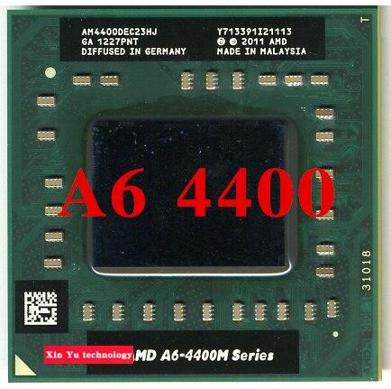 Пожизненная гарантия A6 4400 м 2.7 ГГц двухъядерный ноутбук процессоры ноутбук процессора AM 4400 гнездо FS1 722 контакт. компьютер оригинальный