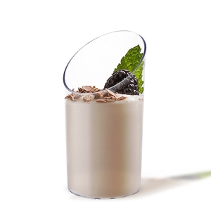 Image 4 - Акция товары для вечерние Ринок и свадеб, одноразовая пластиковая посуда, 84*40 мм/70 мл, прозрачная десертная чашка, 10 шт./упаковка