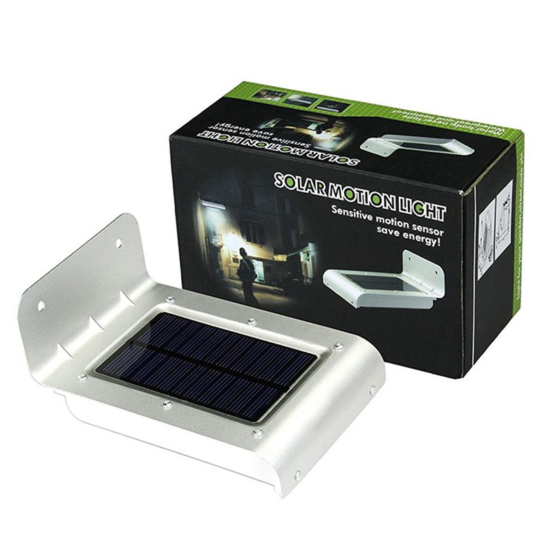 FW-18 Led Ultra-Thin Waterproof Solar Sensor Wall Street Light Outdoor Lamp New Style Solar Lights Solar Courtyard Human Body In