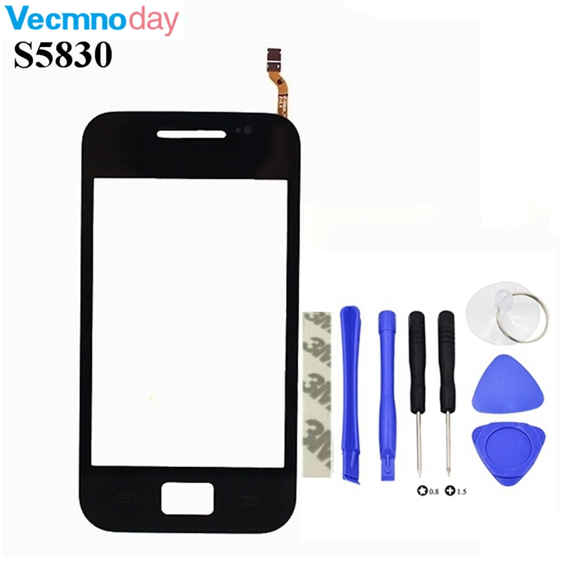 Vecmnoday Touch Screen Sensor For Samsung Galaxy Ace S5830 S5830i GT-S5830 Window Glass Digitizer Touchscreen Replacement Parts