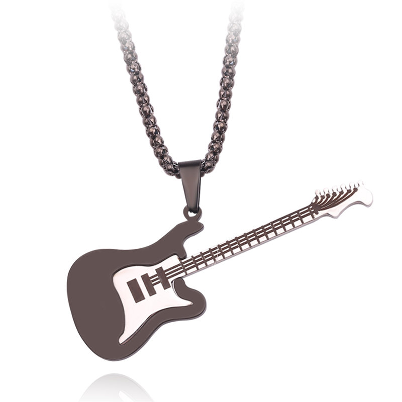 Musicians Crowd Custom Guitar Pick Pendant Necklace Keychain