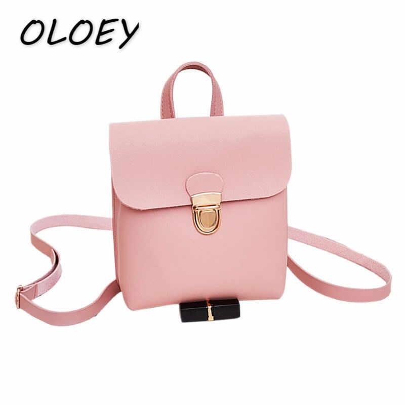 Женские мини-рюкзаки из искусственной кожи для девушек, телефонная упаковка для подростков, маленькая школьная сумка на плечо