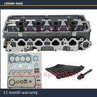 Головка блока цилиндров для Mitsubishi Montero Pajero Space Star Lancer 1584cc 1.6L SOHC 16 V 98 Двигатель: 4G18 с полным болтом прокладки