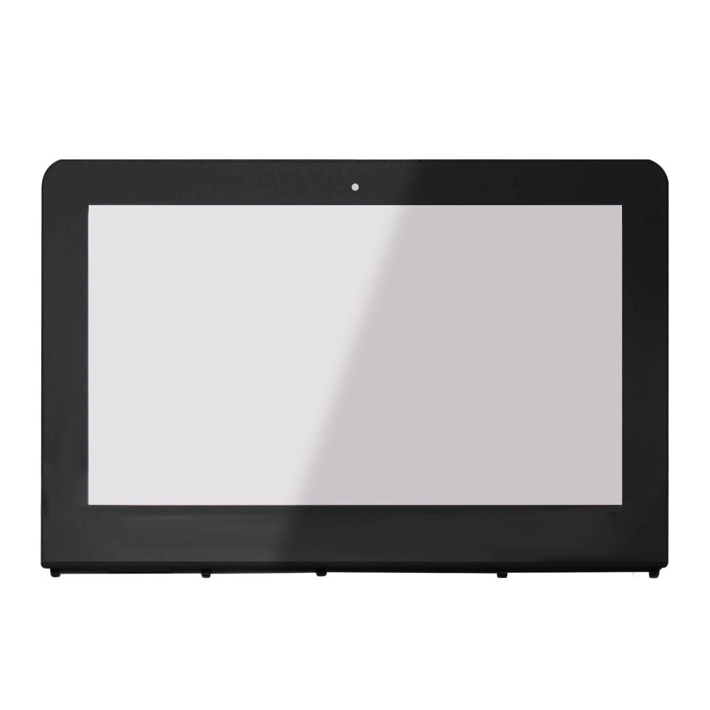 Touchscreen Digitizer Glass Panel for HP Stream x360 11-ab008tu 11-ab015tu+Bezel ультрабук трансформер hp stream x360 11 aa000ur y7x57ea y7x57ea