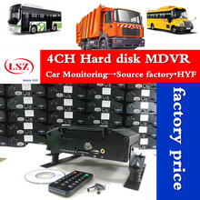 mobile dvr 4ch Hard Disk hi3520d car monitoring mobile video surveillance Police car/engineering vehicle hdd mdvr factory