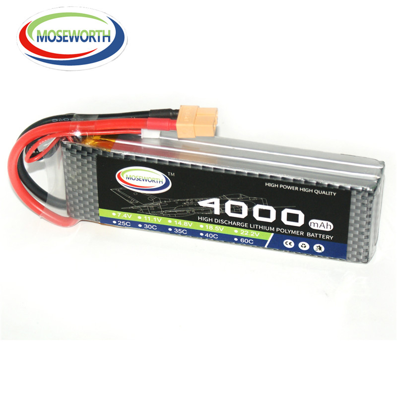 LiPo Battery 11.1V 3S 4000mAh 25C Remote Control Toys Lithium Battery RC Car Drone Quadcopter Helicopter Airplane Li-ion Battery mos rc airplane lipo battery 3s 11 1v 5200mah 40c for quadrotor rc boat rc car