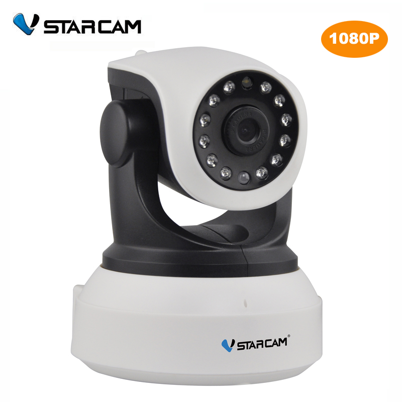 VStarcam C24S 1080P HD Wireless Security IP Camera WifiI IR-Cut Night Vision Audio Recording Network Indoor Baby Monitor c7824wip hd wireless security ip camera wifii wi fi r cut night vision audio recording surveillance network indoor baby monitor